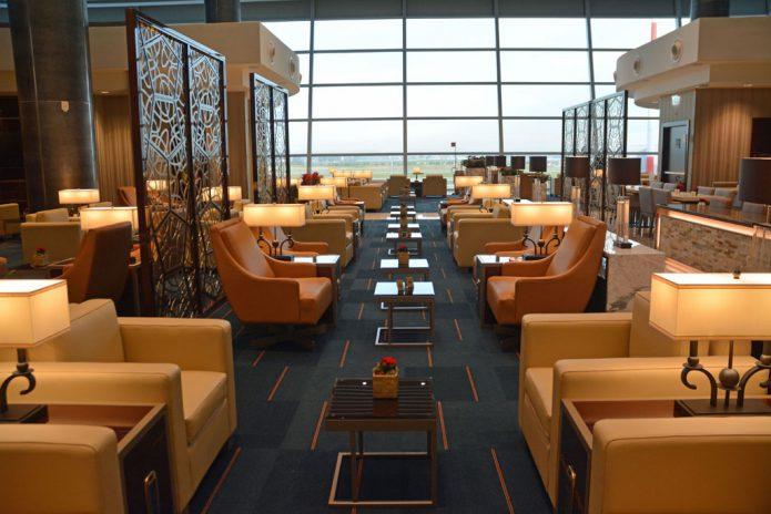 Emirates Lounge Roma