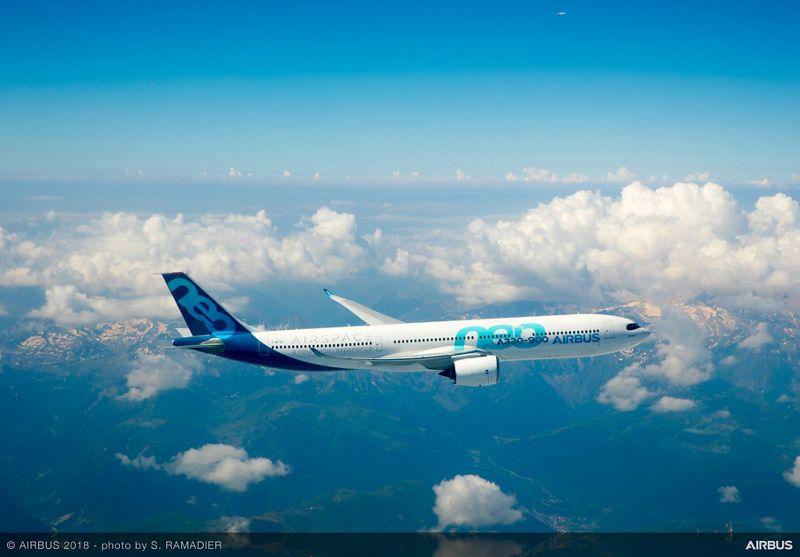A330 900 in flight 001