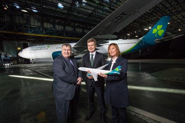 Aer Lingus brand reveal 4 Mike Rutter Sean Doyle Dara McMahon
