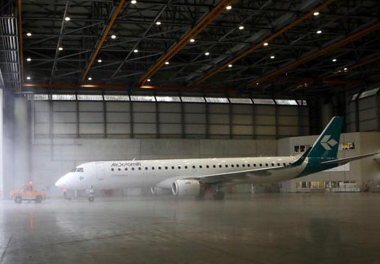 Air Dolomiti New Livery