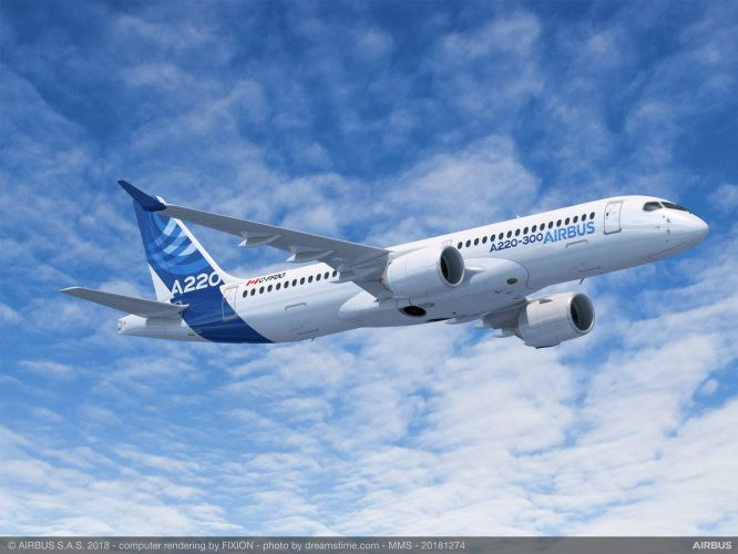 A220-300 - credit: Airbus