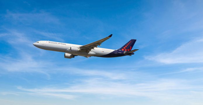Brussels Airlines A330 SN OO SFV Landscape
