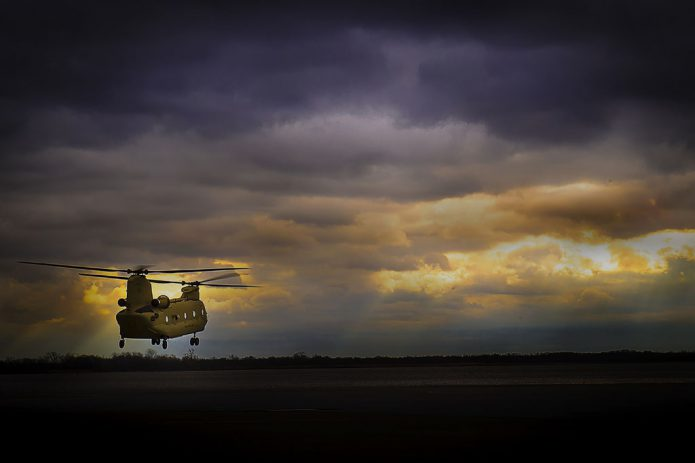 CH 47D Chinook