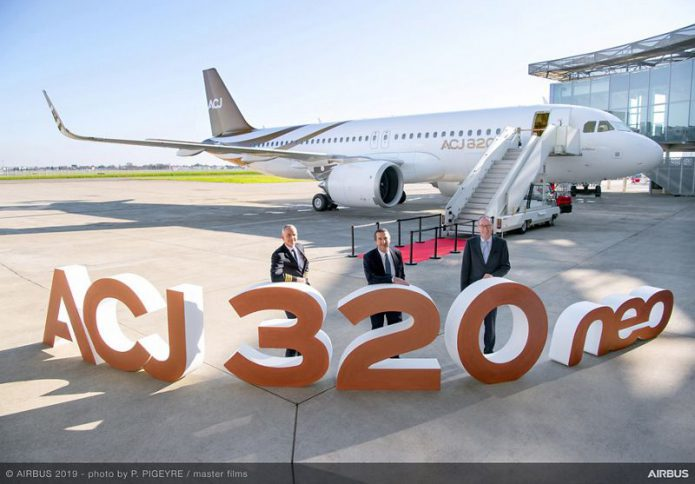 First ACJ320neo delivery to Acropolis Aviation