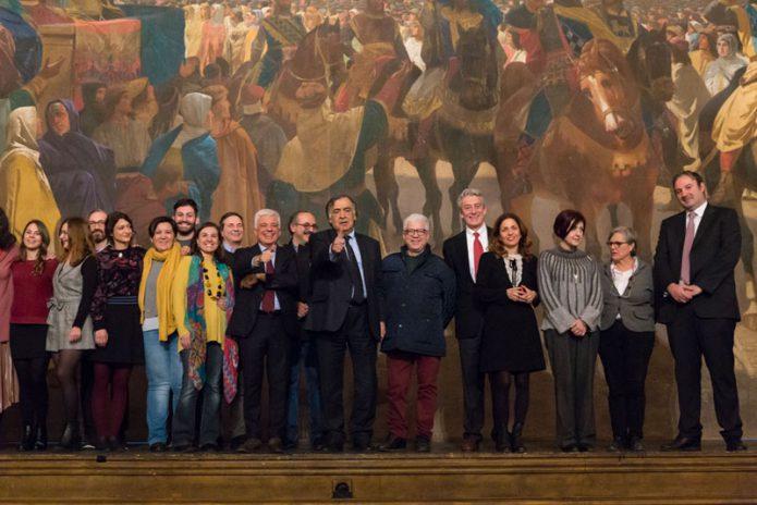 Volotea restauro Sipario Teatro Massimo 1