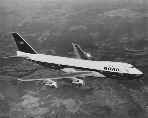 britishairways BOAC 747