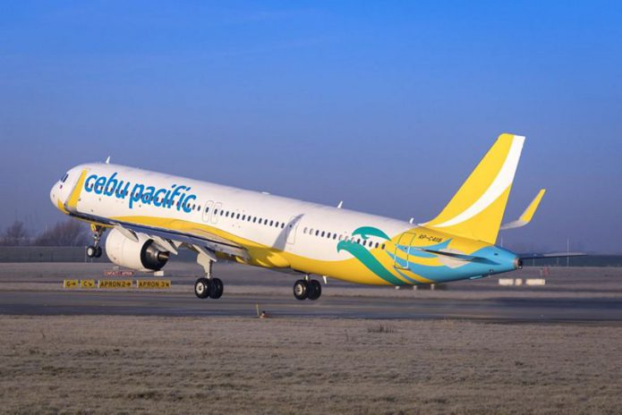 cebu pacific first a321neo ferry flight