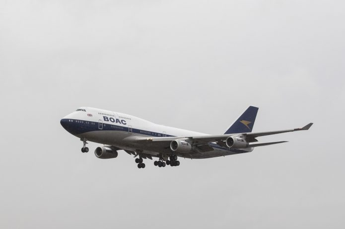 747 BOAC British Airways 1