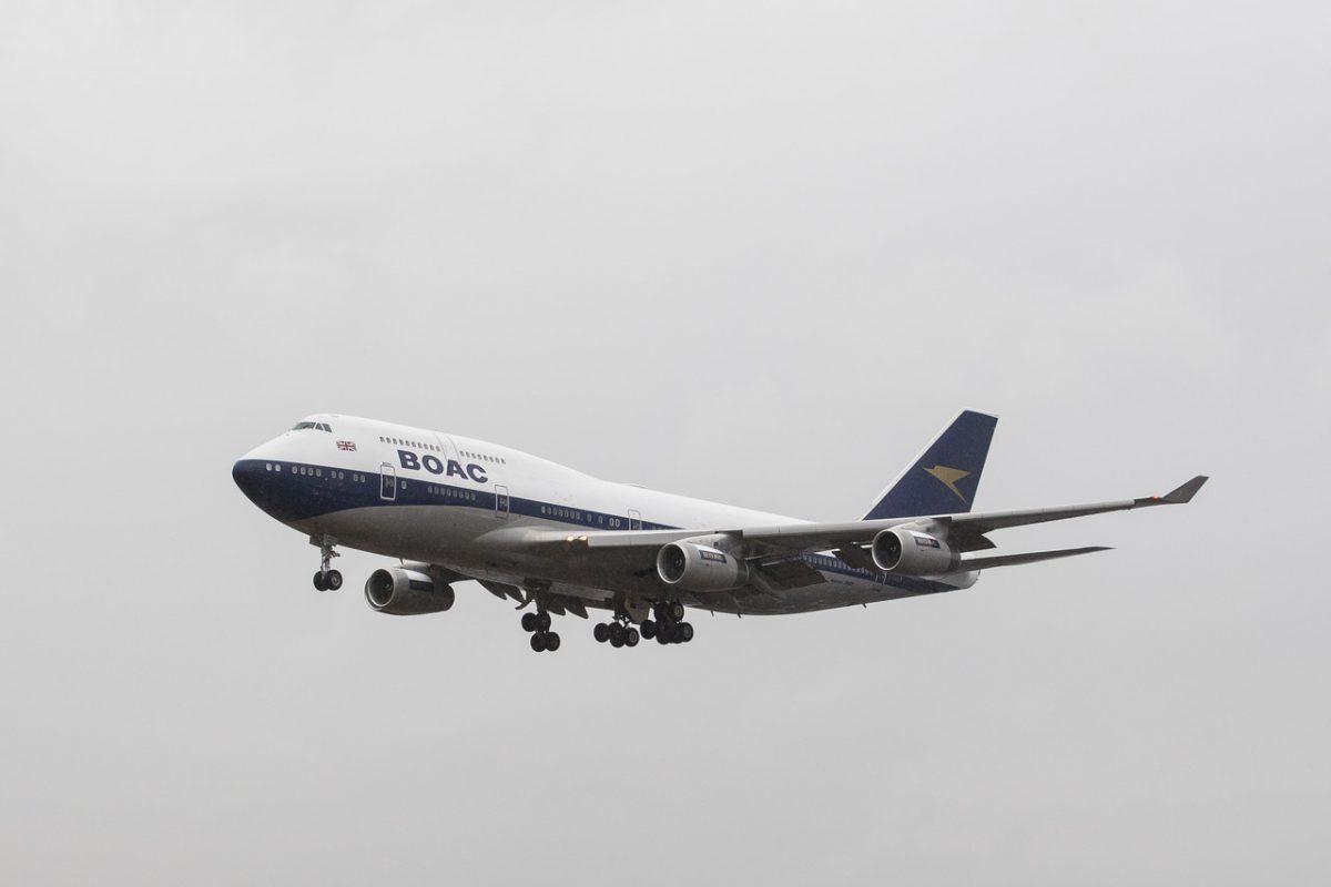 747 BOAC British Airways 1