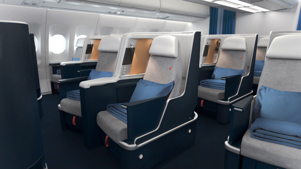 AirFrance Business Siege A330