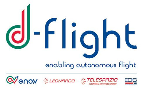D Flight logo