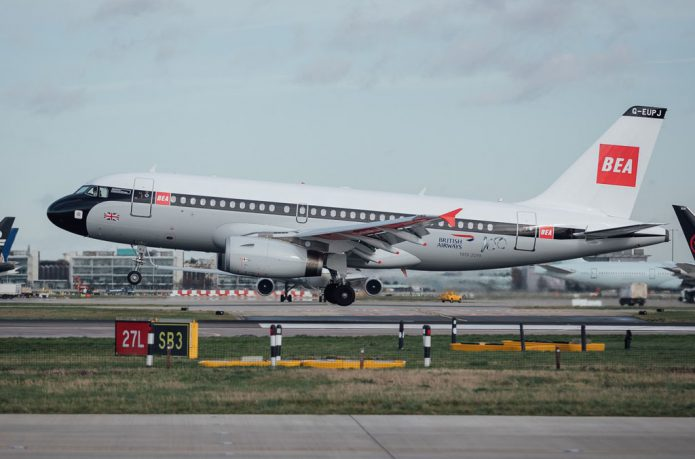 A319 BEA Heathrow