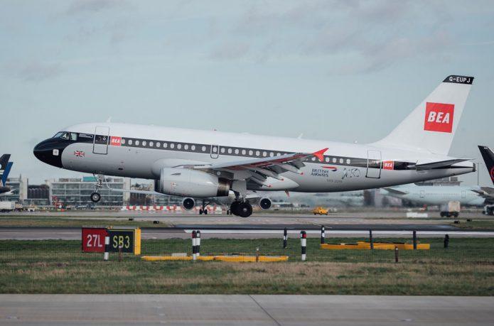 A319 BEA Heathrow