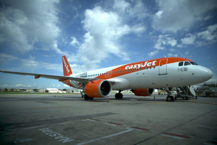 A320neo easyjet Napoli