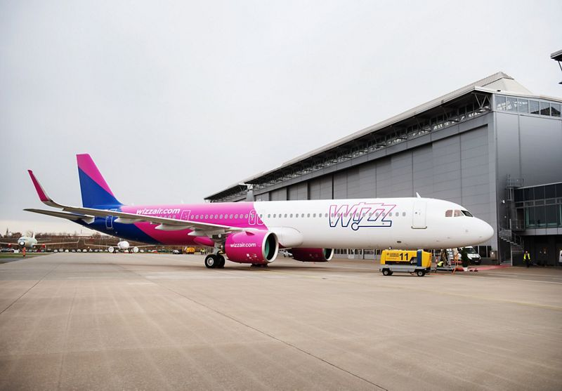 A321neo 1st Wizz Air Hamburg delivery