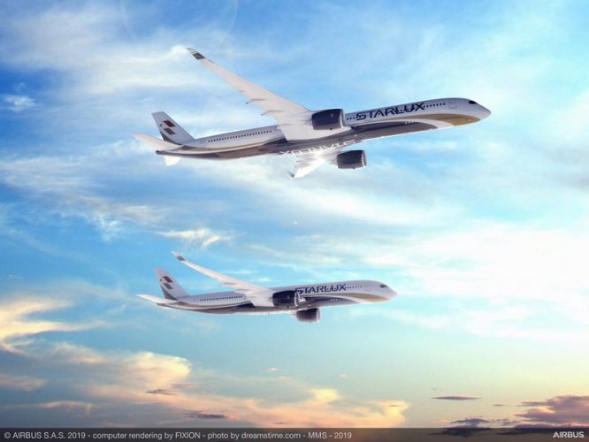 A350 900 and A350 1000 RR STARLUX