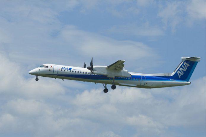 ANA DHC8 Q400 2