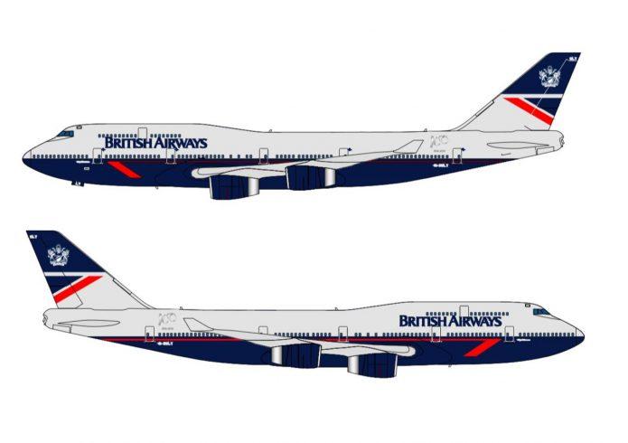 BA 747 Landor Livery
