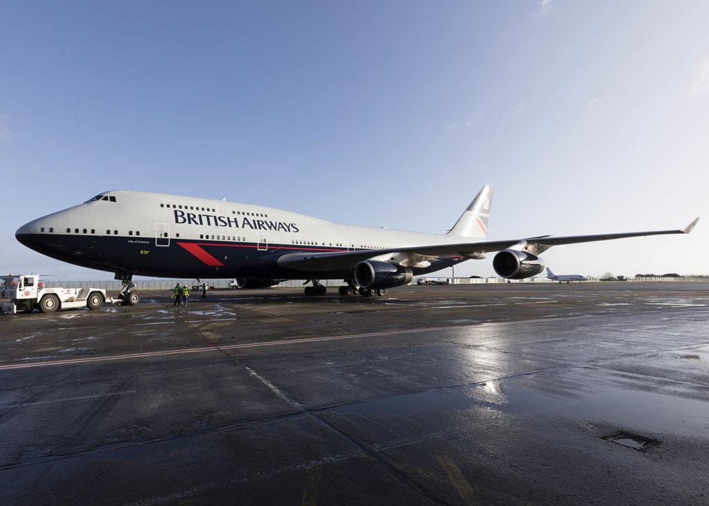 British Airways 747 Landor Design
