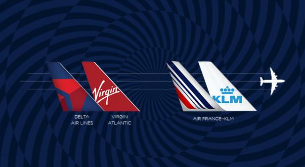 Codeshare AF KLM Delta Virgin