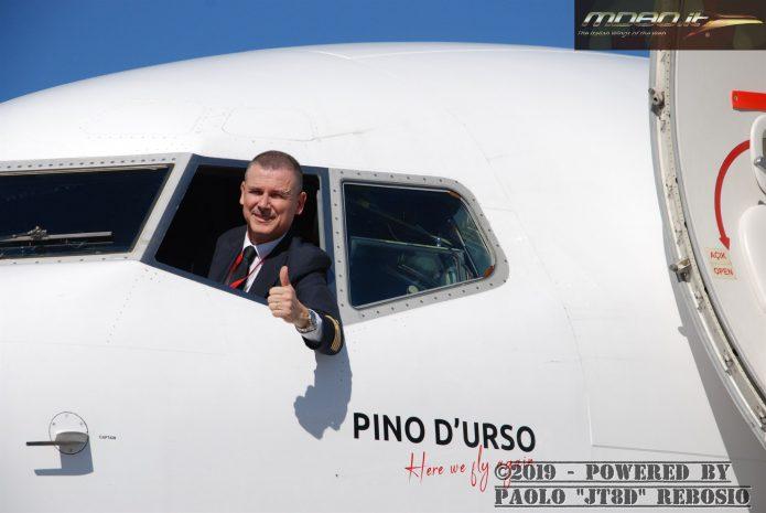 """Albastar - presentazione velivolo """"Pino d'Urso"""" - BGY - 05-03-2019"""