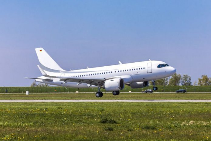 1st flight ACJ319neo