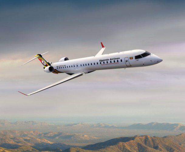 CRJ900 Uganda Airlines