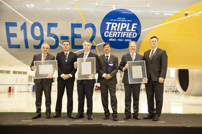 E195 E2 Certification Ceremony