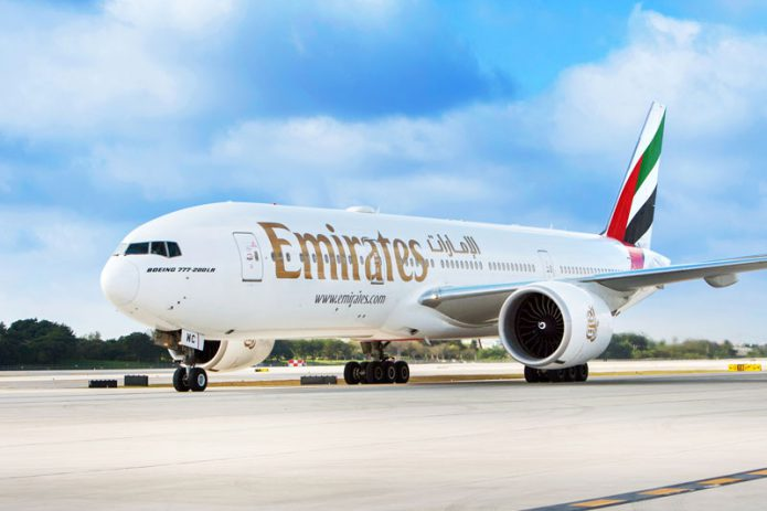 Emirates Boeing 777 200LR
