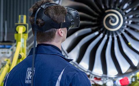 RR Qatar Airways VR