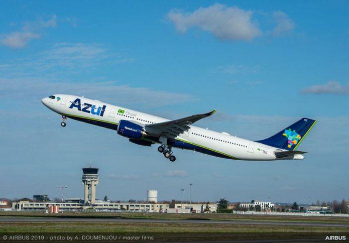A330 900 AZUL MSN1876 take off 005