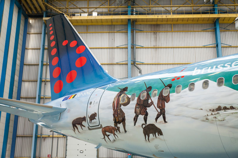 Brussels Airlines A320 Bruegel 2