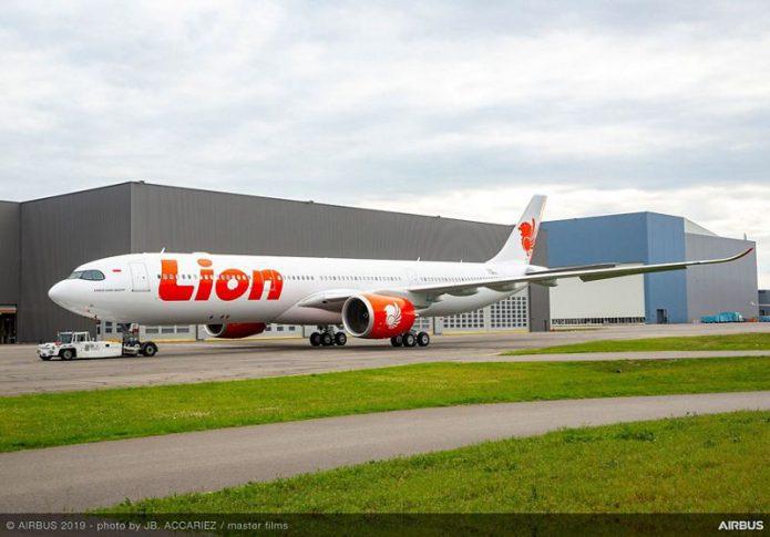 Lion Air A330 900 RollOut
