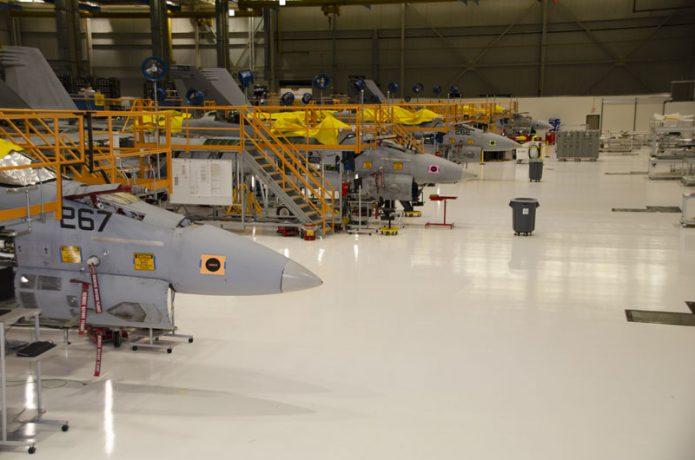 SLM FA 18 Boeing