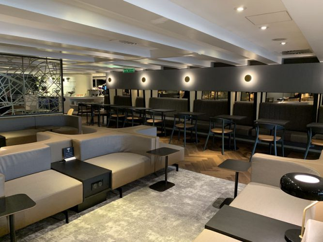 Star Alliance Lounge CDG
