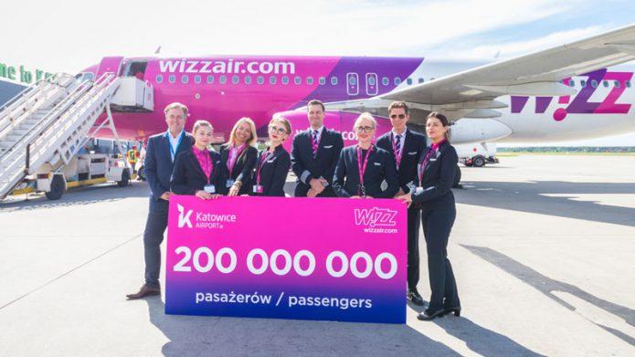 Wizz Air 200mln pax