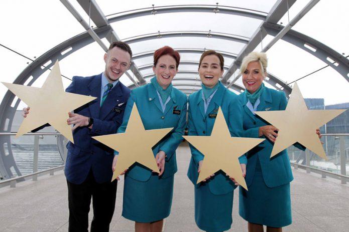 Aer Lingus 4 Star Skytrax rating