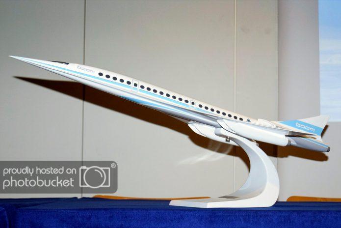 Boom Supersonic - modellino Bpurget 2017