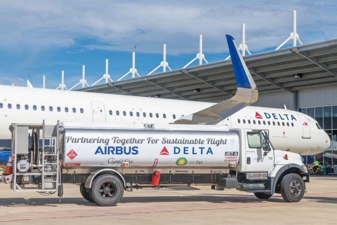A321 Delta Sustainable Fuel