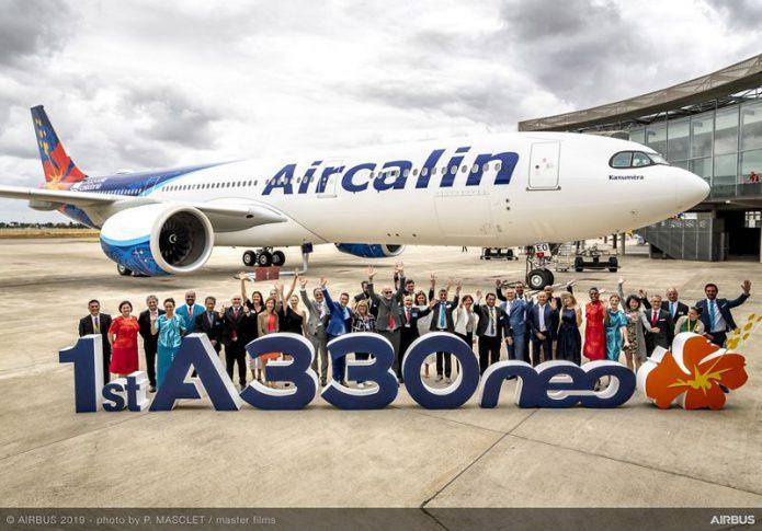 A330 900 Aircalin MSN1937 delivery 134