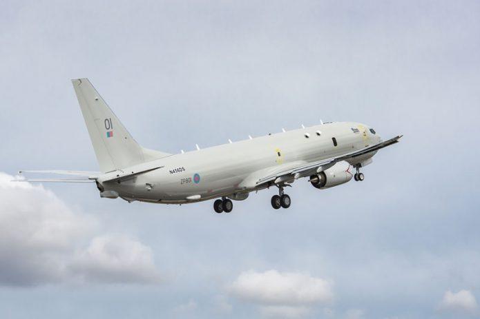 UK Boeing P 8A Poseidon