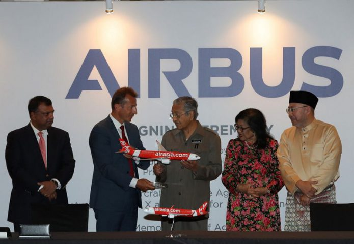 Airbus announces new industrial projects in Malaysia