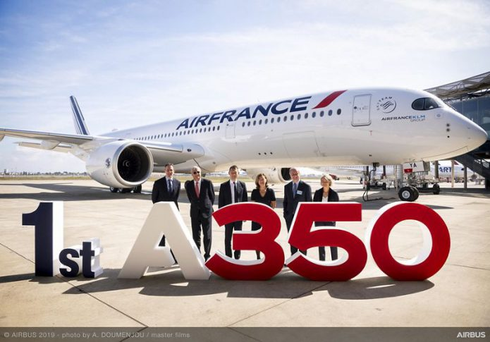 1st A350 900 Air France MSN331 delivery 193