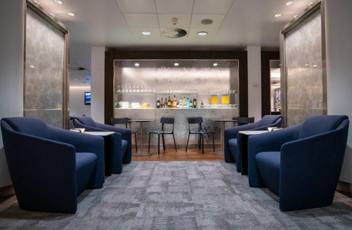 BA Linate Lounge