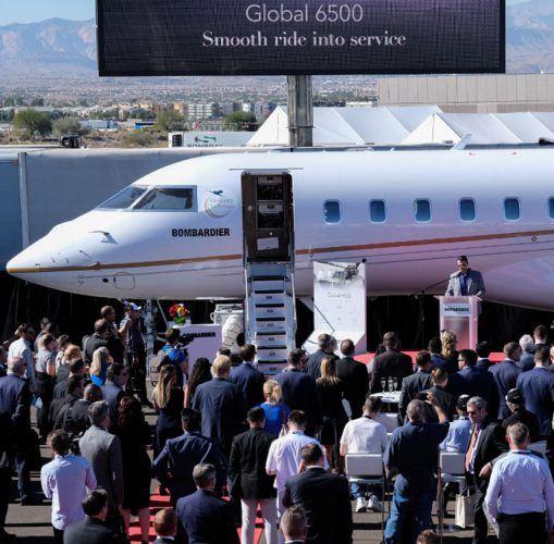 Bombardier Global 6500 NBAA