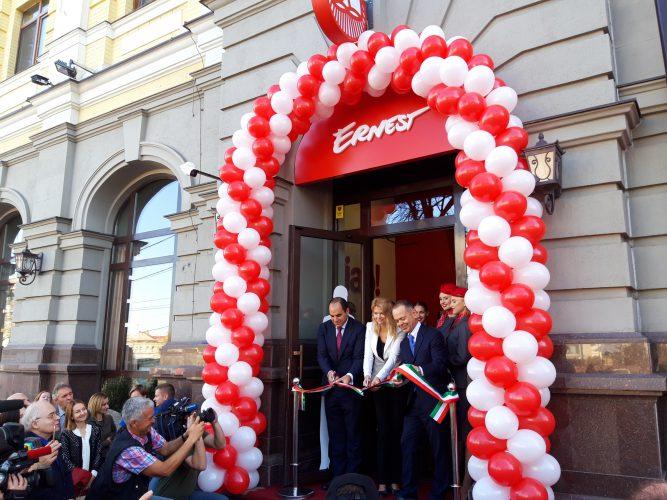 Inaugurazione headquarter Ernest Airlines Kiev