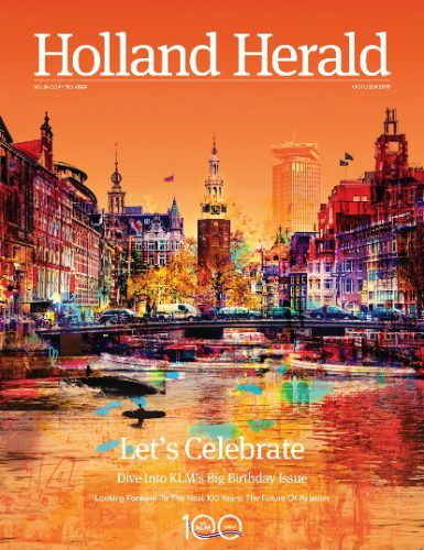 KLM Cover Holland Herald 100 anni