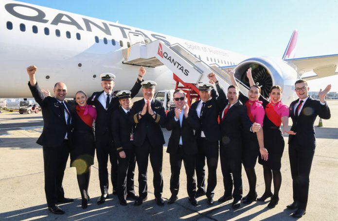 Qantas New York Sydney