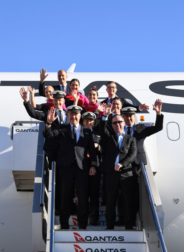 Qantas New York Sydney 1