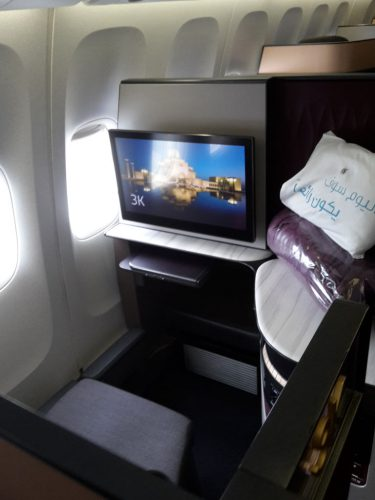 Qatar Airways QSuite MXP 5